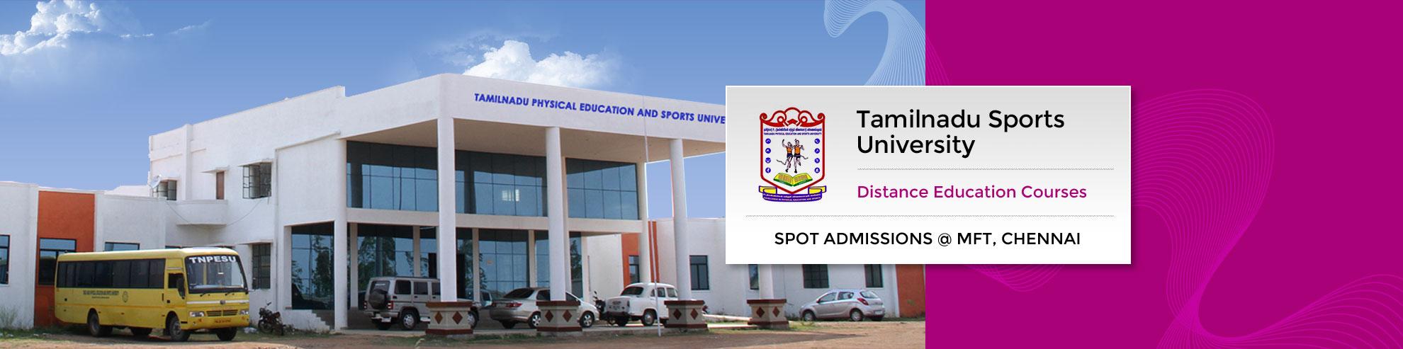Tamilnadu Sports University, MBA Sports Management, MSc Yoga